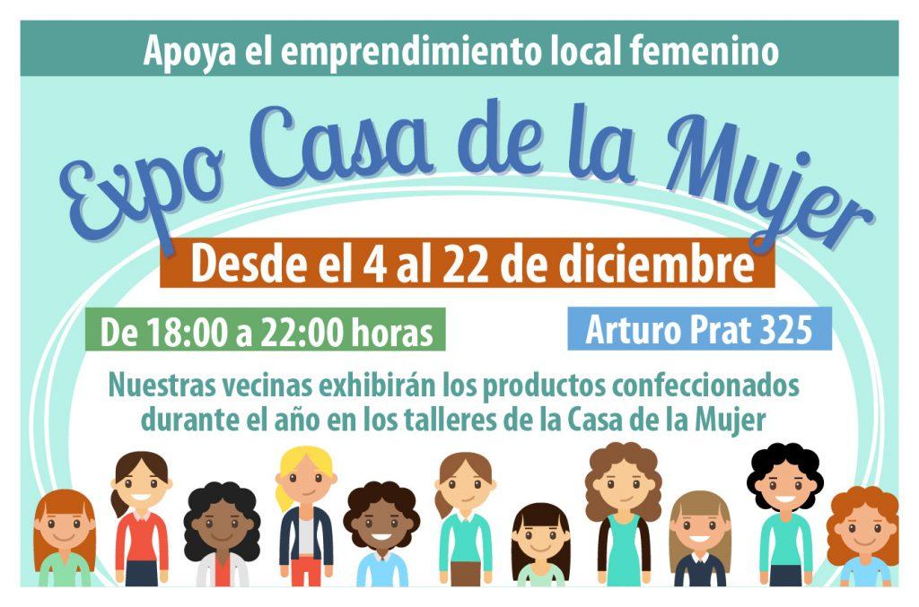 Expo Casa de la Mujer @ Arturo Prat 325