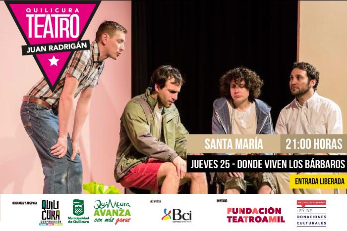 Teatro - Donde viven los Bárbaros @ Villa Santa Maria