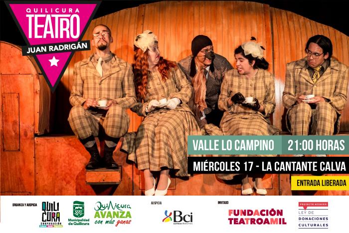Teatro - La Cantante Calva @ Valle Lo Campino